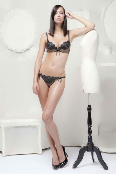 Jean Paul Gaultier for La Perla 2011内衣泳衣系列