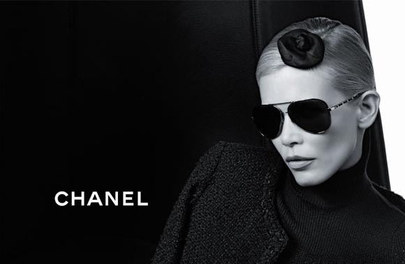 Chanel 2011早秋眼镜广告大片