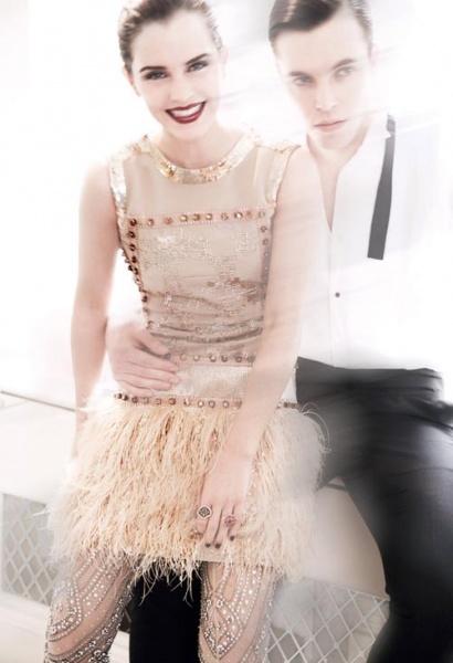 美国版Vogue七月时装大片