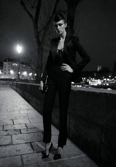 法国版Vogue五月黑白大片