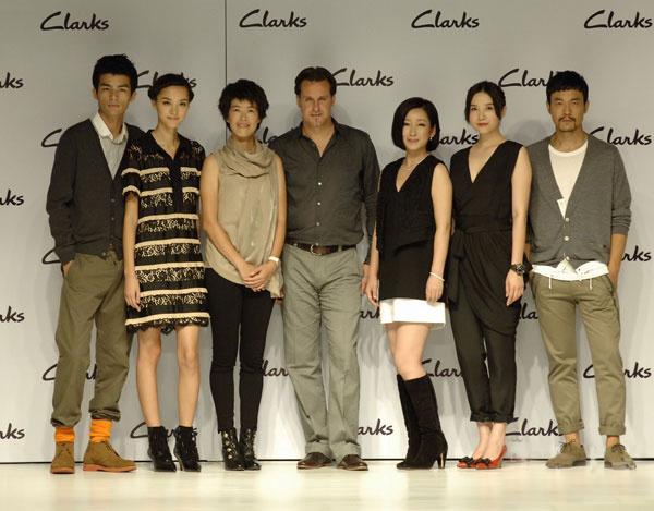 众星助阵Clarks新款鞋品发布