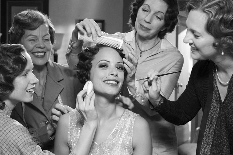 奥斯卡影片《艺术家》复古发型妆容欣赏