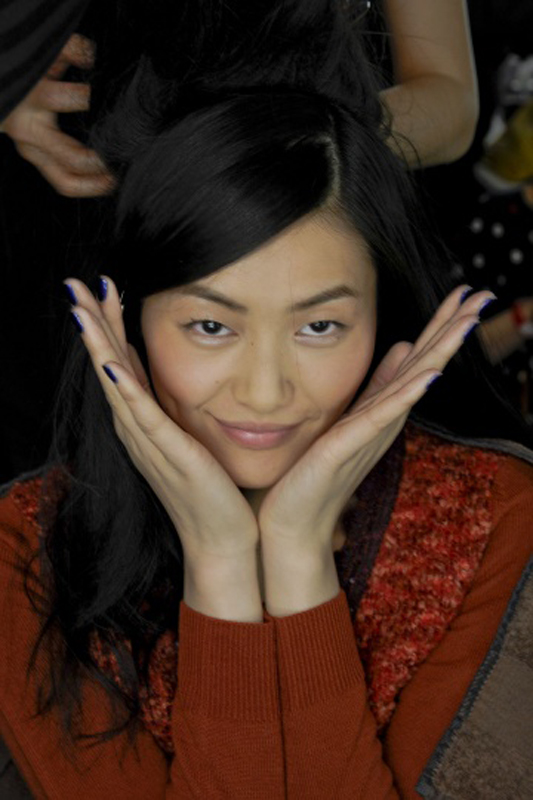 Anna Sui 2012秋冬高级成衣后台花絮