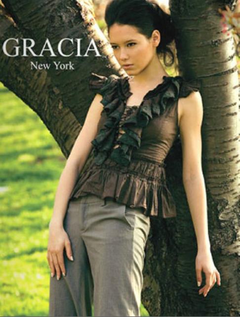 Gracia 2012春夏女装系列大片