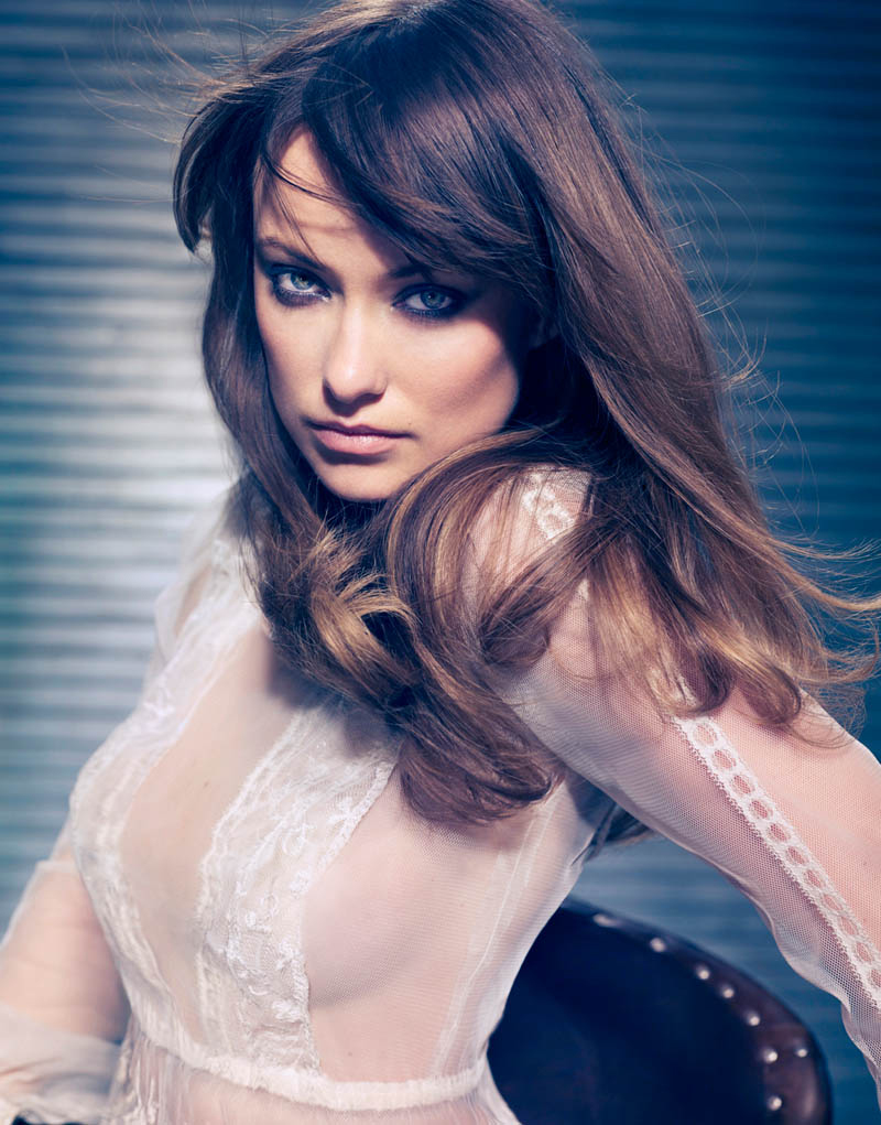 Olivia Wilde《Modern Luxury》2012年2月号