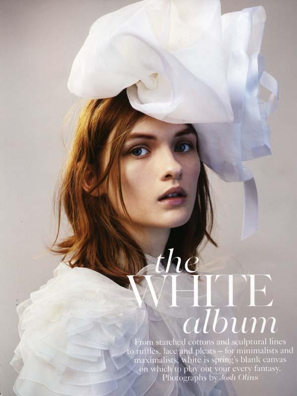 圣洁4月 英国版Vogue大片