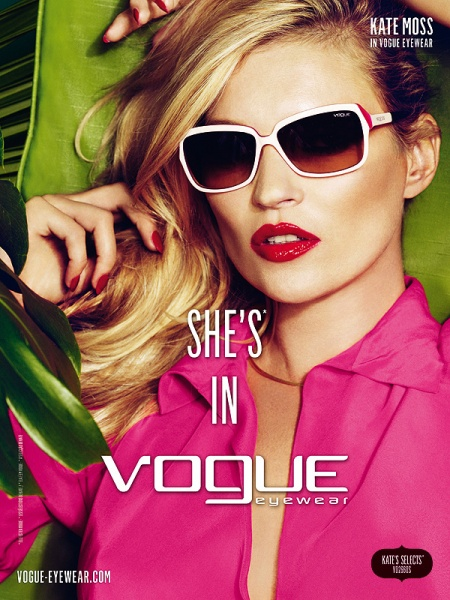 Vogue Eyewear 2011春夏广告大片
