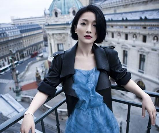 周迅穿越午夜巴黎 拍摄时尚大片