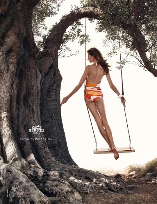 Hermès 2012春夏广告大片