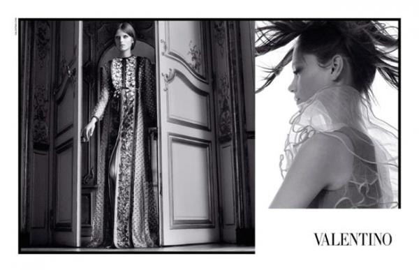 Valentino 2011春夏广告大片