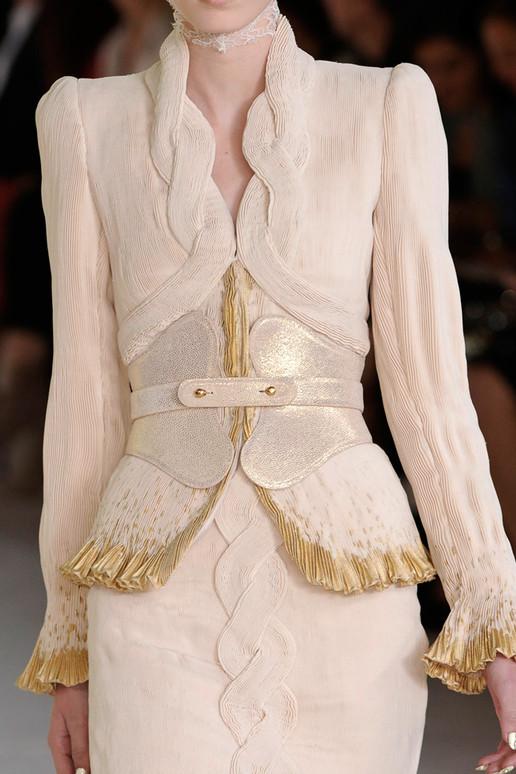 Alexander McQueen 2012春夏细节