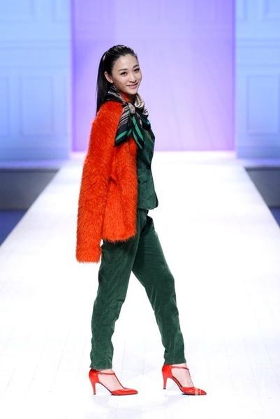 群星闪耀 2012中国时装周