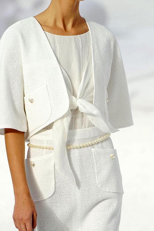 Chanel 2012春夏高级成衣细节