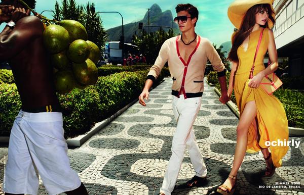 恋上Rio de Janeiro  ochirly 2012春夏系列