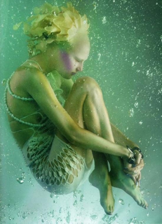 全新人鱼公主彩妆 梦幻海底美人鱼的诱惑