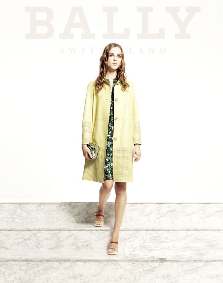 Bally 2012女士春夏皮衣系列