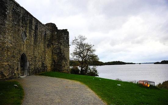 爱尔兰 古堡湖畔的凄美浪漫