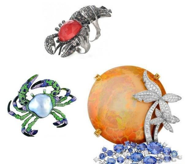 将镜头对准五光十色的海底世界,零距离细赏神奇美妙的海洋仿生珠宝,将