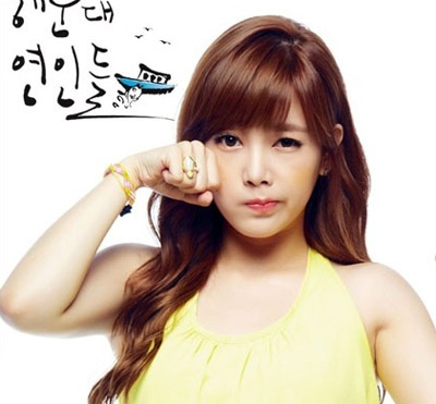 晒晒韩国女明星耀眼的美妆