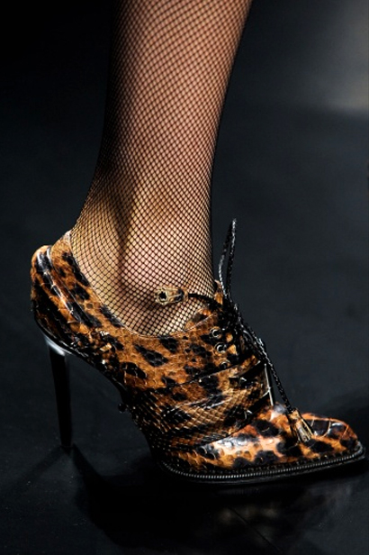 Roberto Cavalli 秋冬系列美鞋
