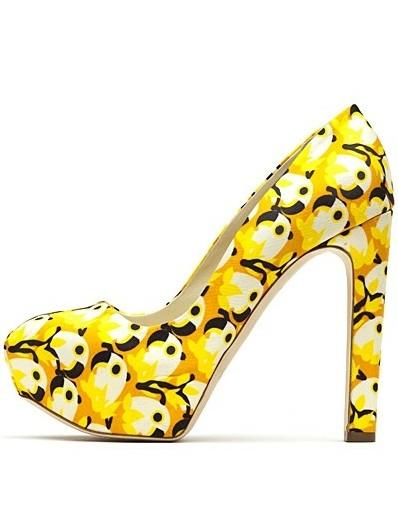 印花鞋履来袭 把春夏穿在脚上