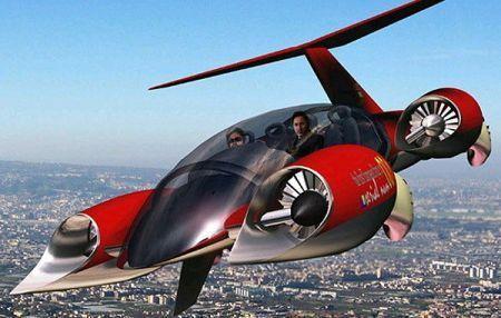 科幻变成现实飞行汽车