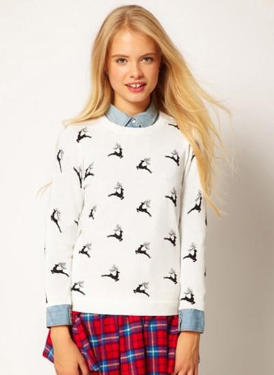 圣诞欢乐气氛 针织毛衣不能少