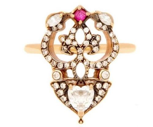 东西方浪漫珠宝 中世纪复古风