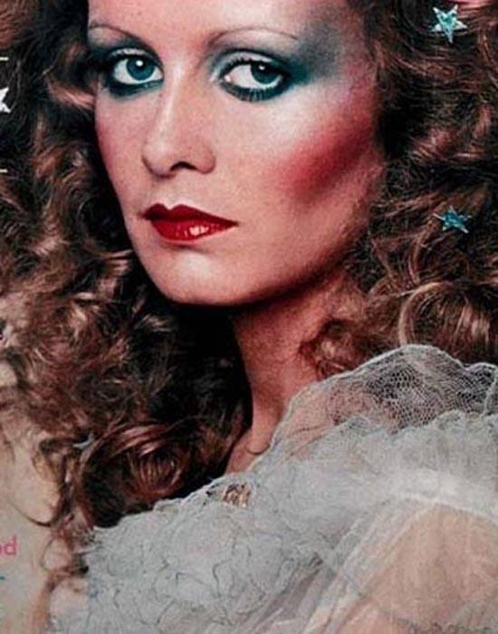 时尚icon twiggy 怀旧彩妆大片图片