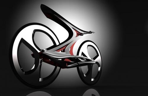Z字形超酷概念自行车