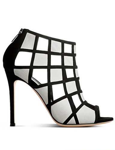 时尚性感短靴 黑白打造经典
