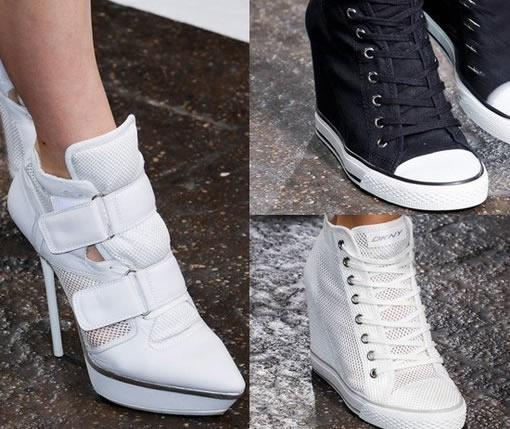 脚踩时尚怪鞋履 夏季出气质
