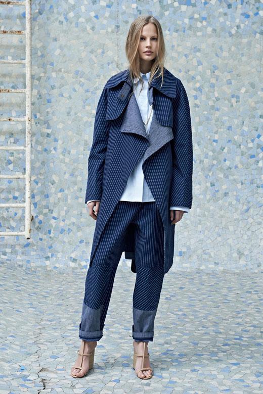 法国时装品牌chloe+2014早春女装度假系列 服