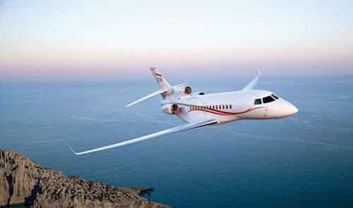 公务机品牌三:达索飞机制造公司(dassault aviation)