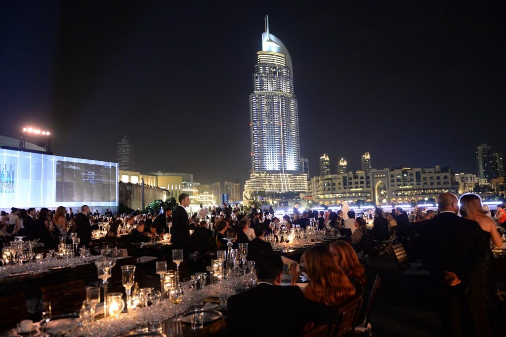 迪拜购物中心派对 大咖云集