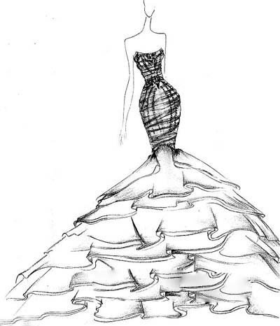 诸位婚纱设计师近日曝光了她们为金大小姐设计的各