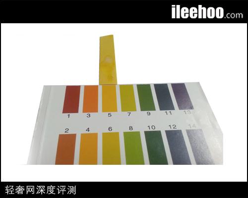 兰芝精华露:酸碱值测试