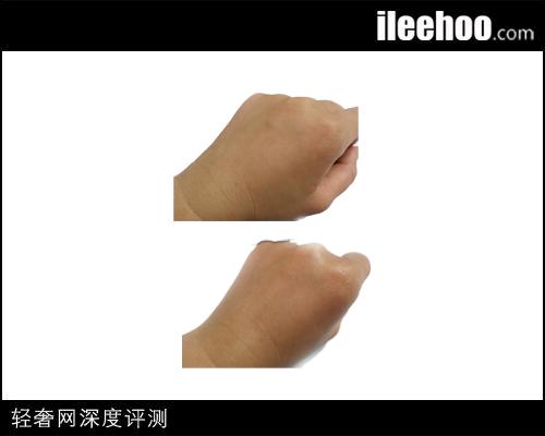兰芝精华露:皮肤测试