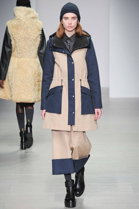 Christopher Raeburn2014秋冬系列 标榜实穿性风衣