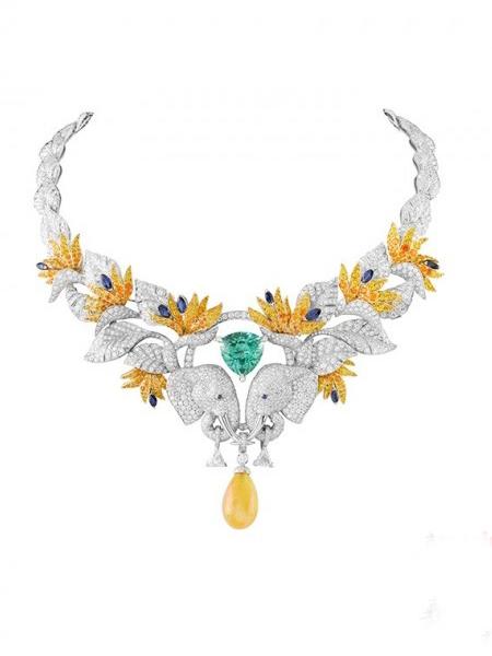 自然生态美 灵性动物大象珠宝