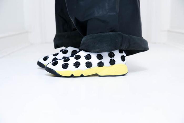 奢华运动风 迪奥秋冬运动鞋