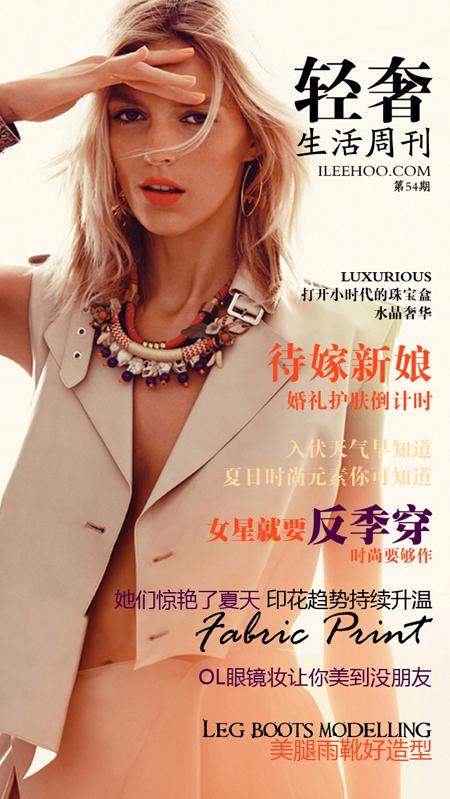 轻奢生活周刊第54期:时尚暑期档 印花掌控未来