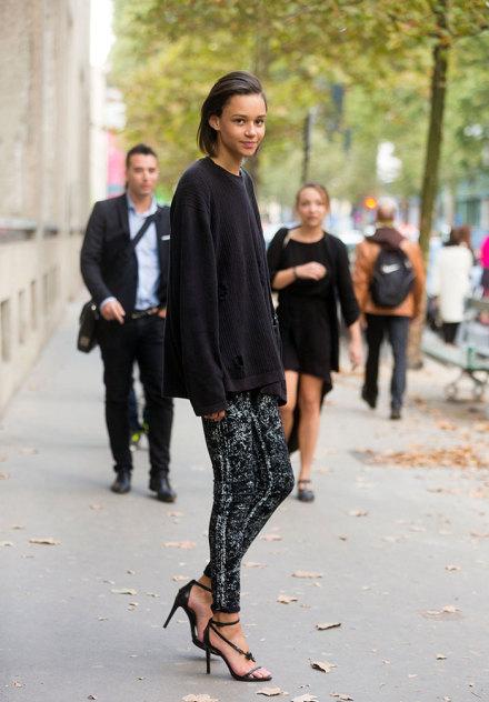 巴黎时装周 让街拍来的更优雅