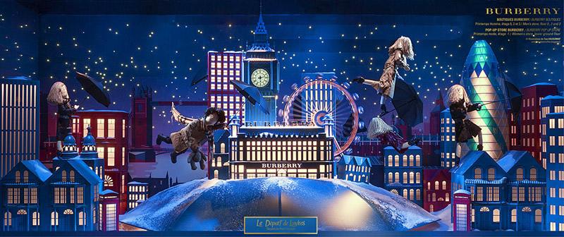 全球圣诞橱窗 最美的梦都给你