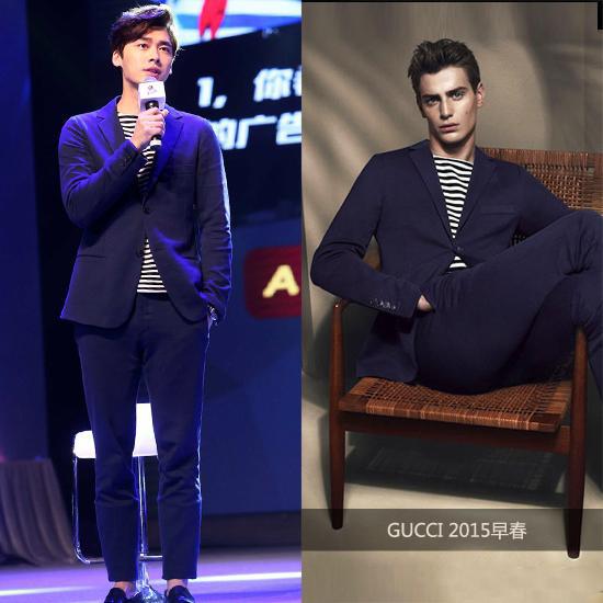 Gucci 2015早春度假系列休闲西装