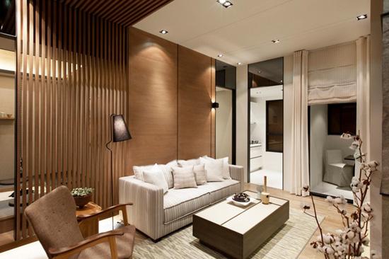 来自台湾的日式风格一居室赏析