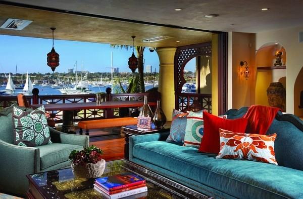 摩洛哥融合非主流 客厅大变身