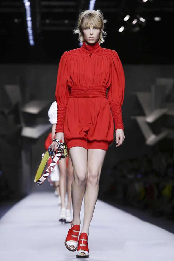Fendi 2016部落编织的浓郁色彩