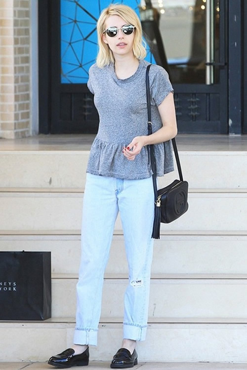 Emma Roberts近日最钟爱的手袋