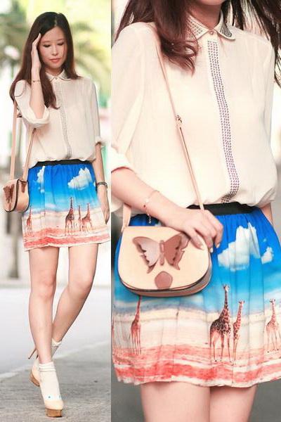 优雅裙装穿出夏日度假风